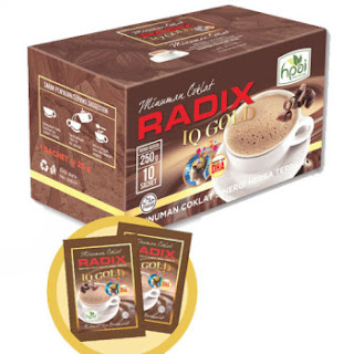 Radix Iq Gold Minuman Coklat Hpai