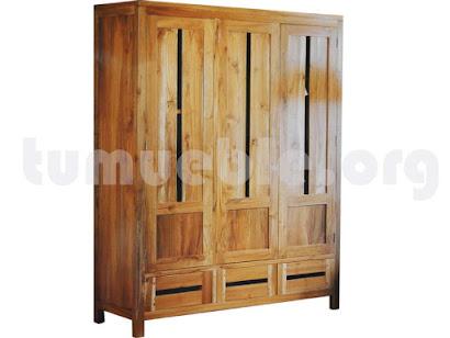 armario ropero teca 4097