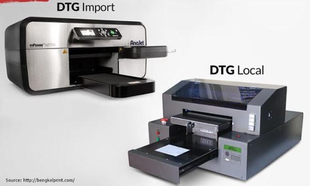 Perbedaan Printer DTG Lokal dan Impor
