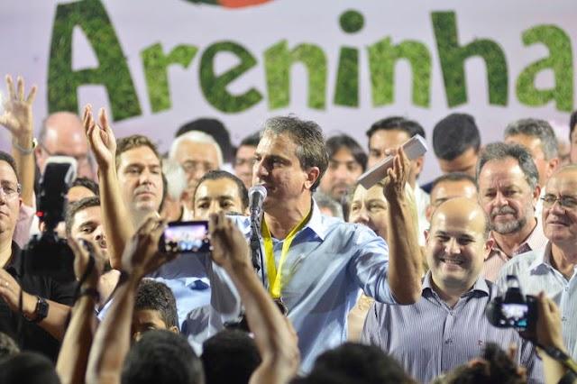 Em inauguração de areninha do Castelão, Camilo anuncia outras 160 em todo o Ceará