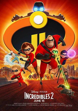 Incredibles 2 2018 Full Hindi Movie Download Dual Audio