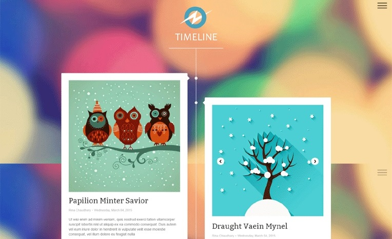TimeLine Discovery Responsive Blogger Template Free Download