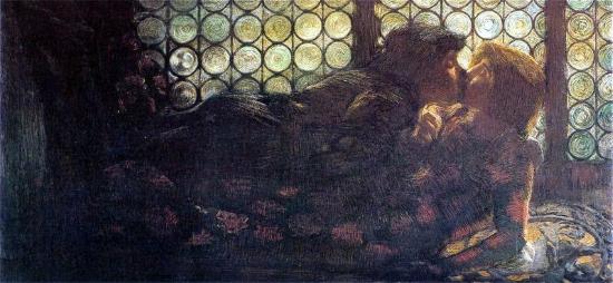 Gaetano Previati Ромео и Джульетта