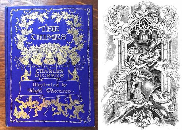 Οι Καμπάνες του Τσαρλς Ντίκενς σε μια παλιά έκδοση / The Chimes by Charles Dickens