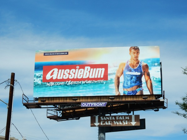 AussieBum Swimwear 2015 billboard