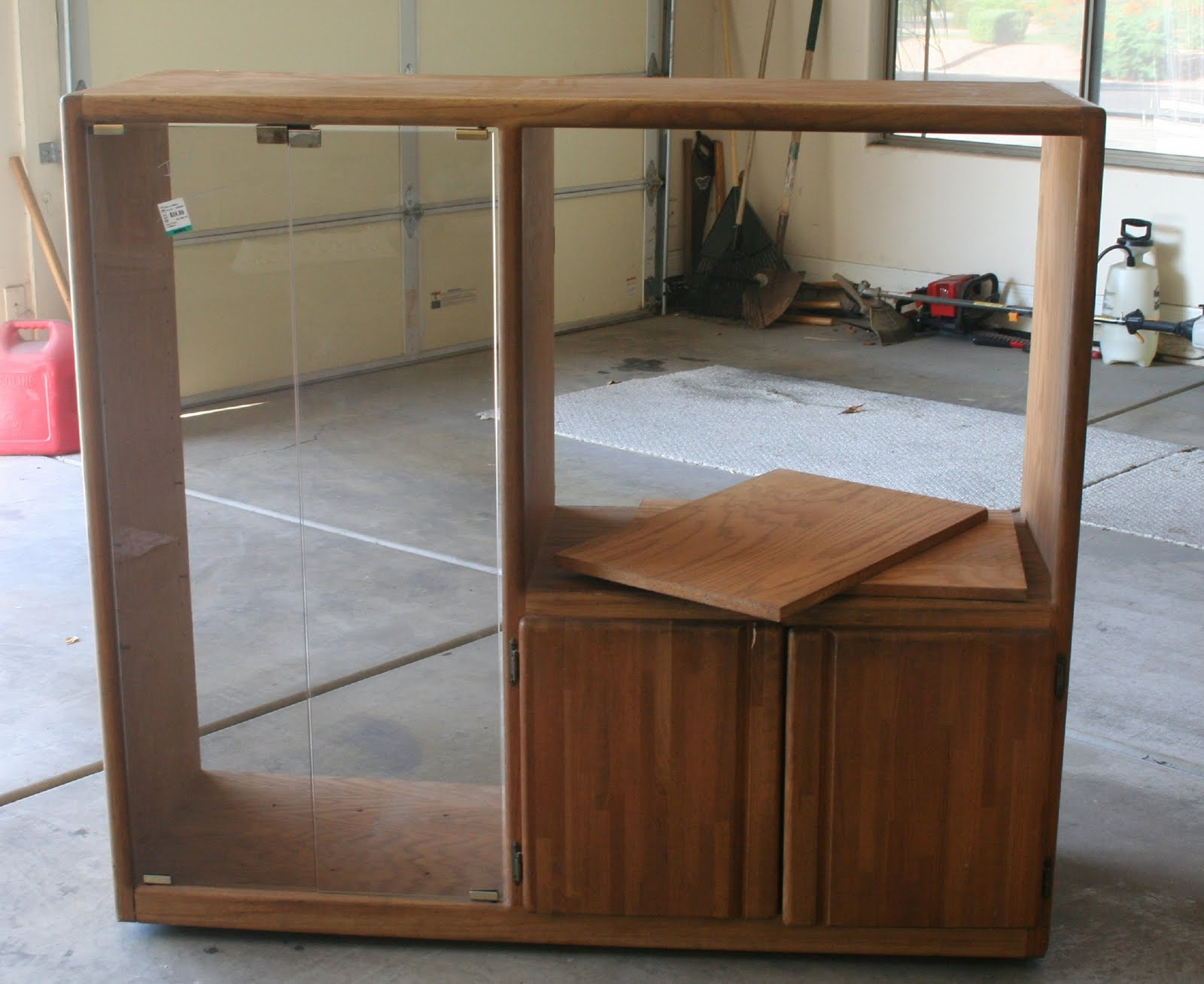 paradise for pennies tv stand play kitchen