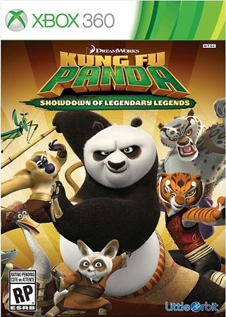 [XBOX 360] Kung Fu Panda Showdown of Legendary Legends
