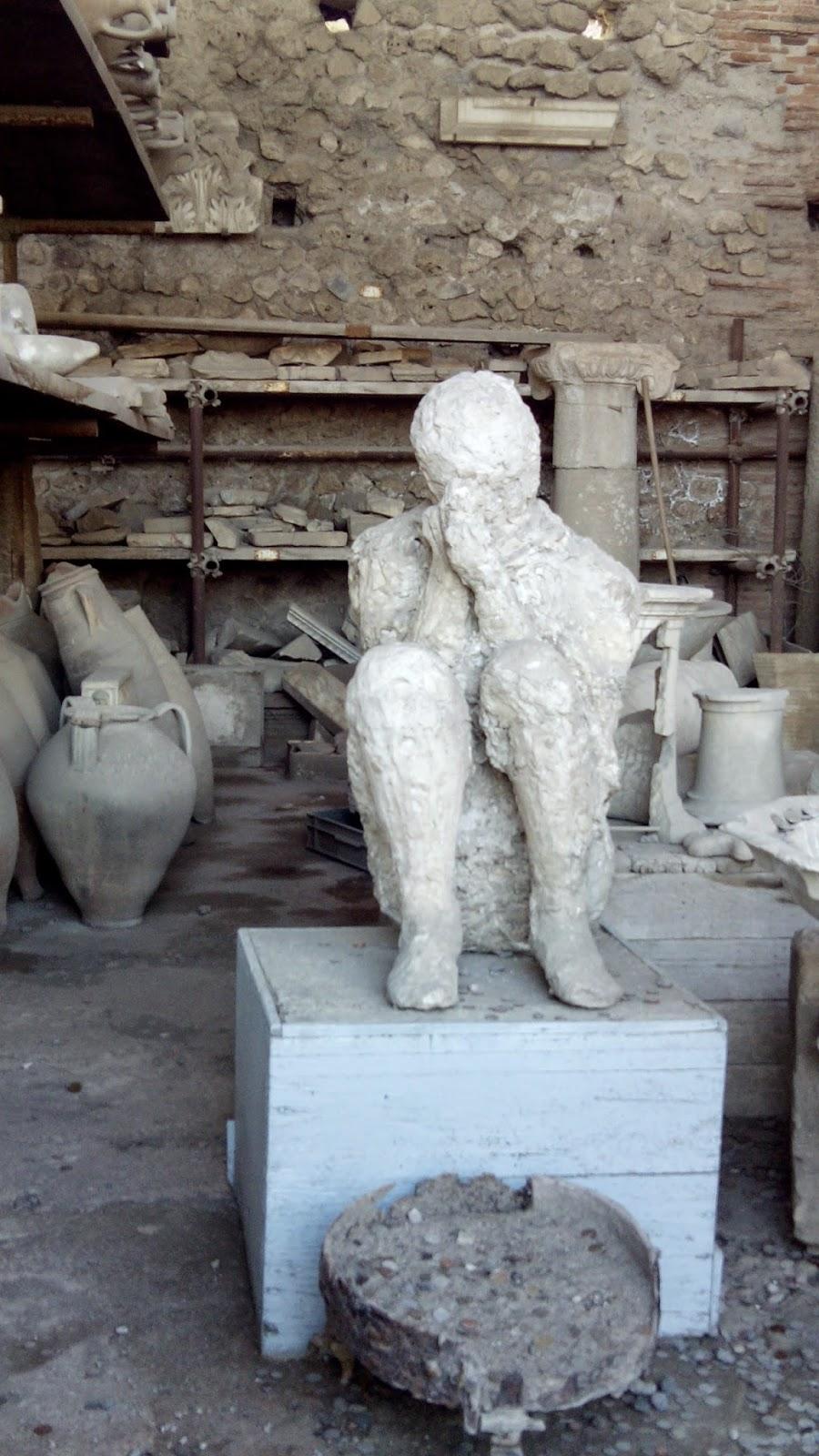 pompeia figuras gesso 1 - Pompei