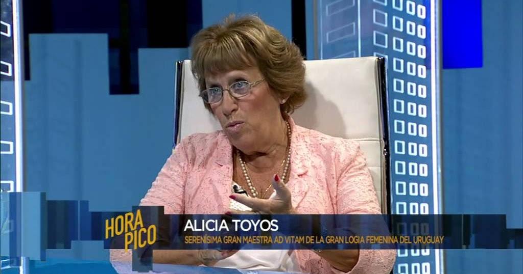 Alicia Toyos, Grã-Mestra ad vitam da Grande Loja Feminina do Uruguai, morreu