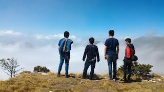 foto tips rute pendankian puncak gunung bawakaraeng makassar