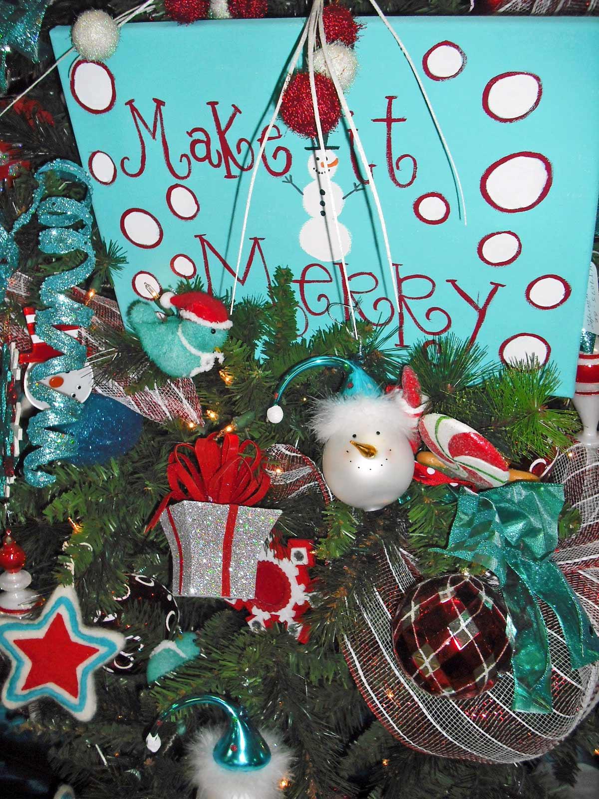 Studio B (UberArt): Twelve Days of Christmas Trees: Day 4