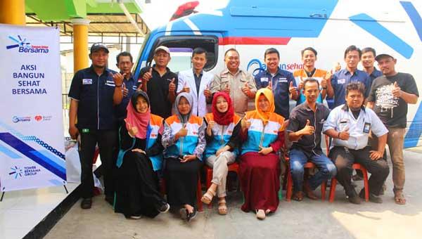 Rumah Zakat, Tower Bersama Grup dan Jamkeswatch Sukses Gelar Pengobatan Gratis