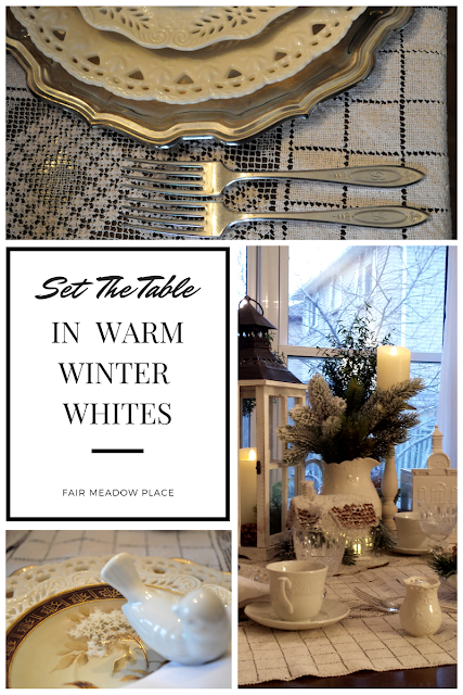 Set The Table - Warm Winter Whites