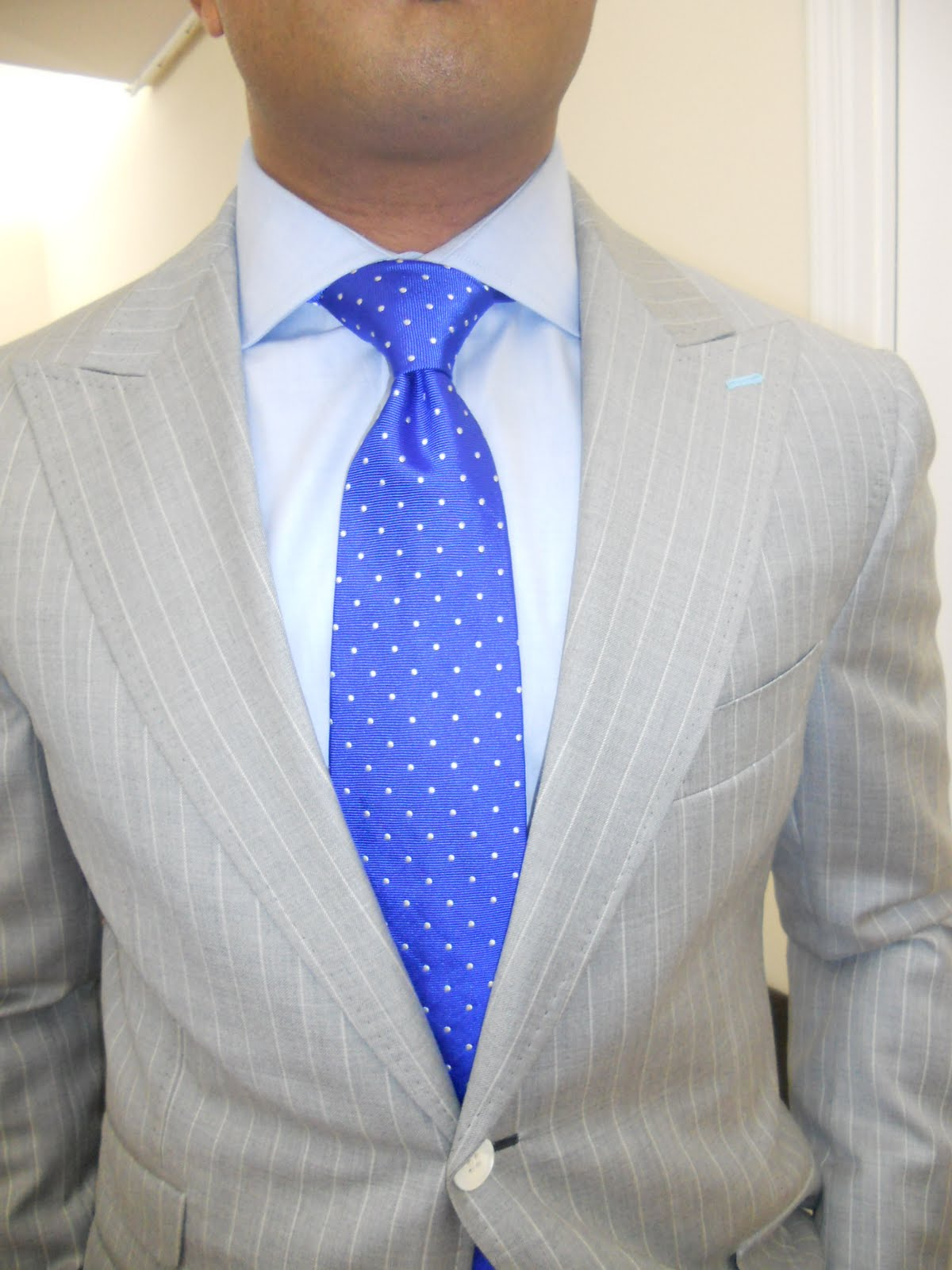 Perfect Gentleman The Windsor Knot Expertly Done