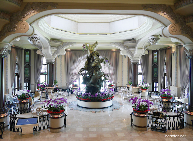 Beautiful and grand, introducing the Grand Salon Lobby Lounge