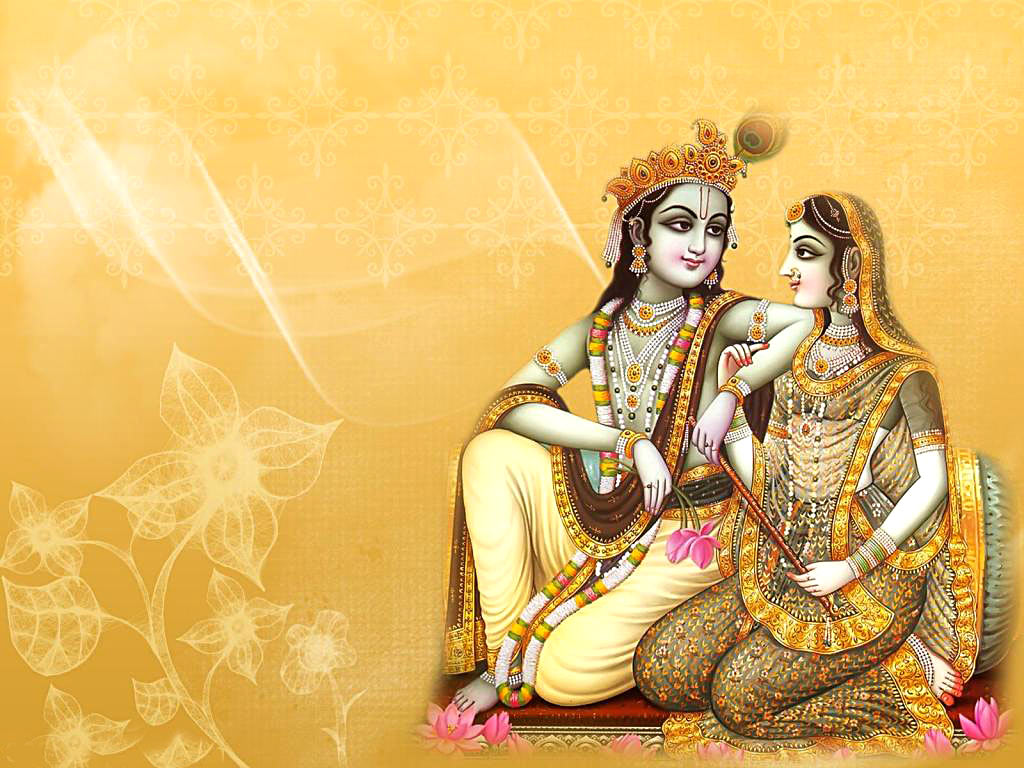Radha Krishna Love Couple Images