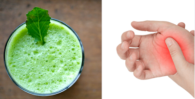 Stops Inflammation And Arthritis Pain With This Alkalizing Boosting Green Juice