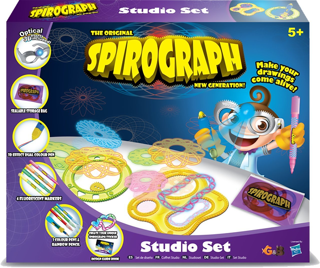 Win 1 of Spirograph Optical 3D Studio Sets