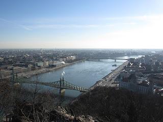 DIY costura: El gorro y la bufanda que me abrigaron en Budapest-Vistas desde el Monte Gellert 2