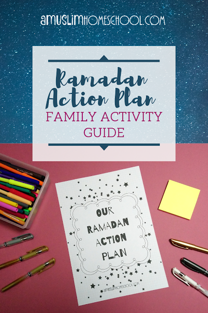 Ramadan action plan - a fun family activity guide