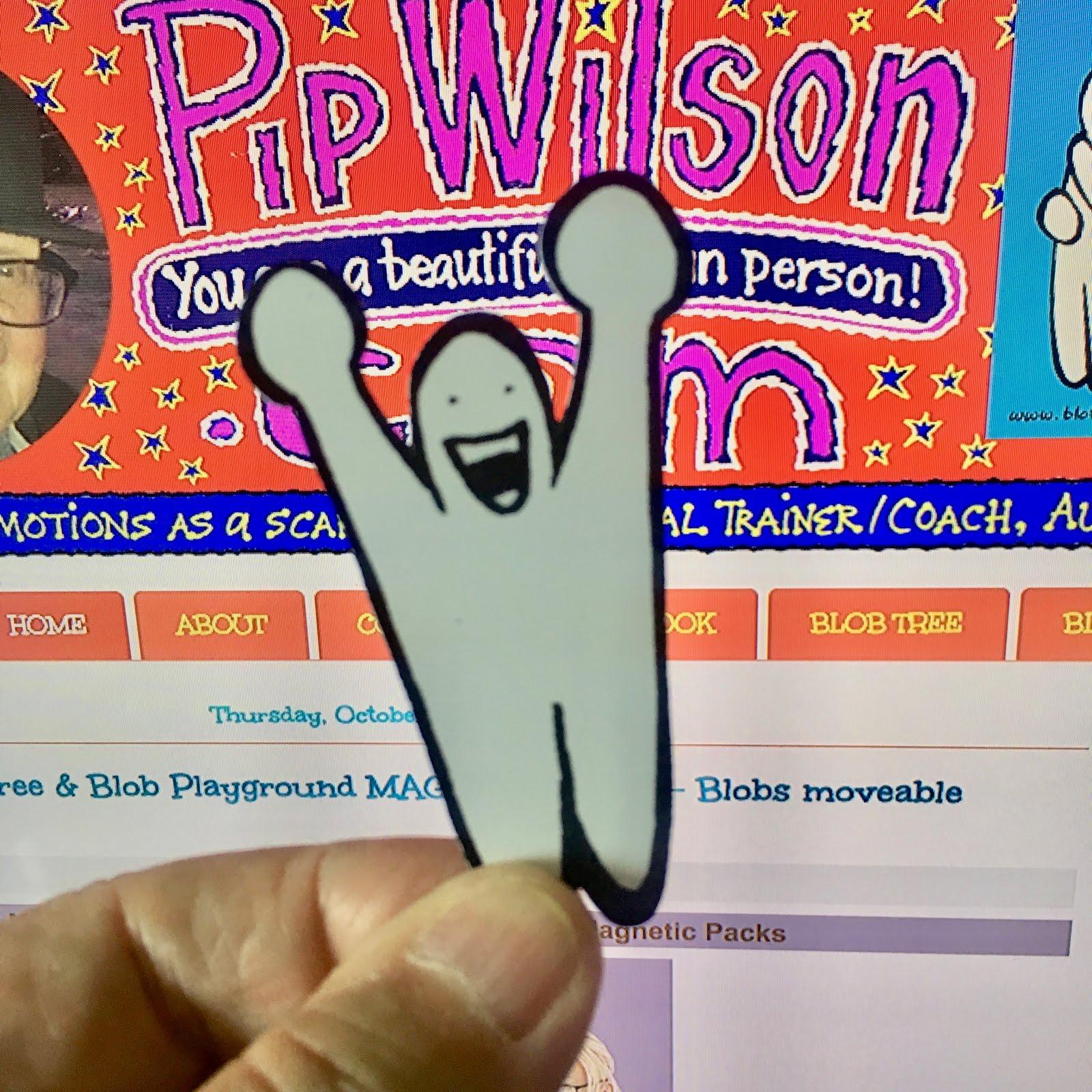 Pip Wilson Bhp: Blob Tree & Blob Playgrond Magnetic Board
