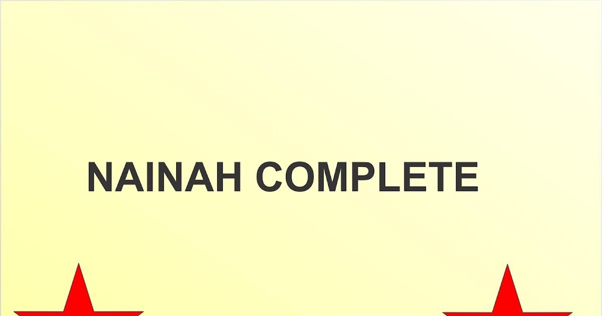 NAINAH COMPLETE - Gidan Novels | Hausa Novels
