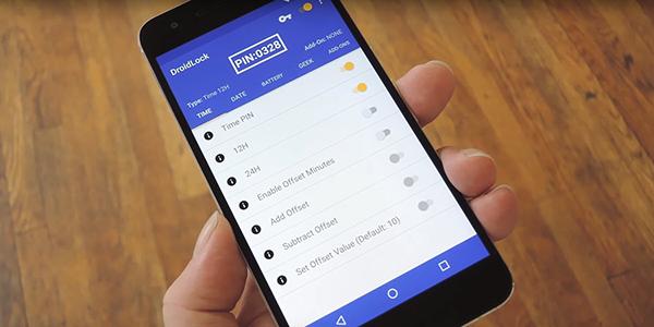 تطبيق بفكرة ذكية لاغلاق هاتفك بكلمة سر متغيرة حسب الوقت أو التاريخ !