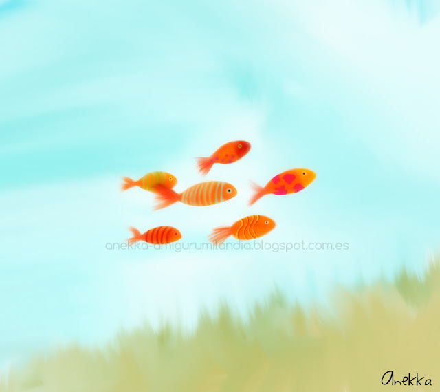 magical fish illustration