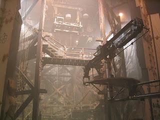 cenário do filme: entrada da câmara do tesouro