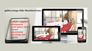 gallery image slider thumbnail navigation