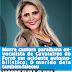Morre cantora paraibana ex-vocalista de Cavaleiros do Forró em acidente automobilístico; O marido dela também faleceu
