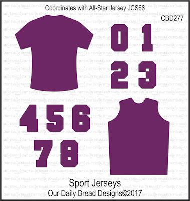 Custom Dies: Sport Jerseys