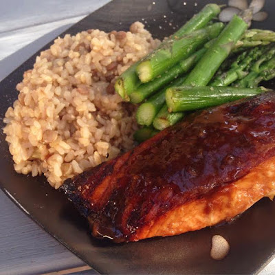 Baked Honey Soy Salmon