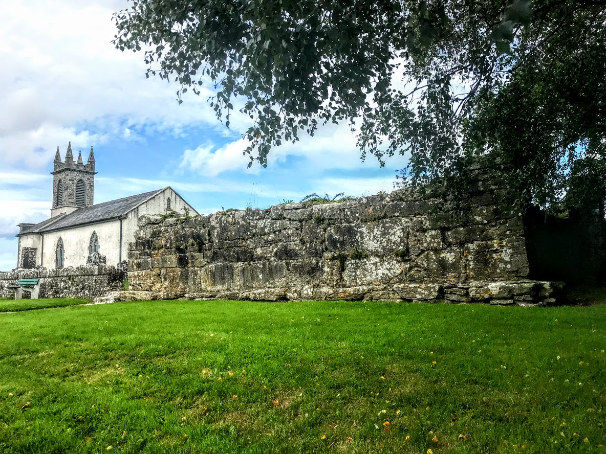 Three churches on the site of Saint Mels - Patrick Comerford