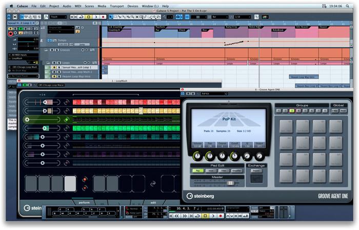 Software Para la Producción Musical: Steinberg Cubase 5.1 ...