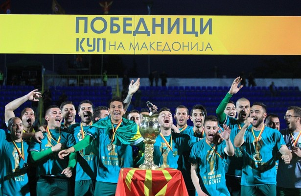 Pelister wins the Macedonian football Cup