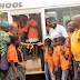 Desmond Elliot donates 'free ride to school bus' to surulere students