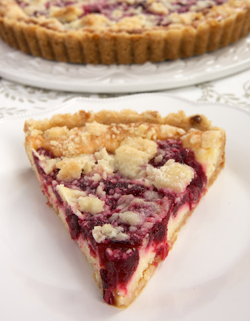 Cranberry Cheesecake Pie from Bake or Break