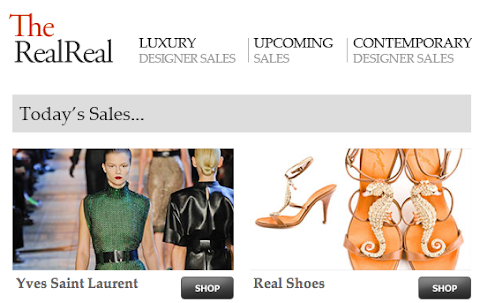 The Real Real: Luxury consignment brands
