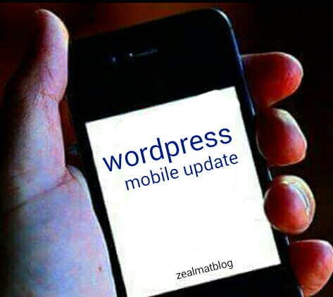 How To Post On Wordpress Blog Using Your Mobile Phone