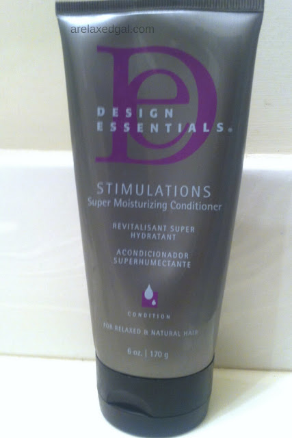 A review of Design Essentials Stimulations Super Moisturizing Conditioner. | arelaxedgal.com