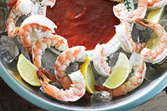Classic Shrimp w/ Paleo Cocktail Sauce
