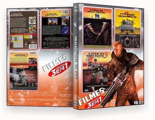 COLEÇÃO FILMES DVD-R VOL 153 DVD-R