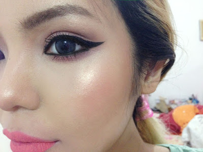 La Girl Line Art Matte Eyeliner Review : Pink paradise swatches review l a girl matte flat finish