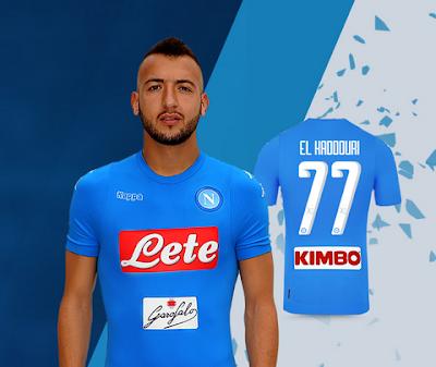 completo calcio Napoli personalizzata