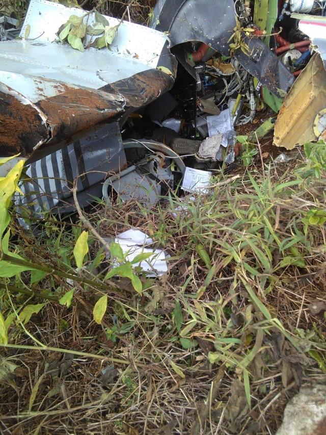Detalles del avión militar que se estrelló en Elías Piña