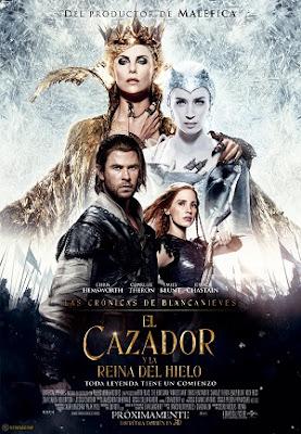 El Cazador y la Reina de Hielo en Español Latino