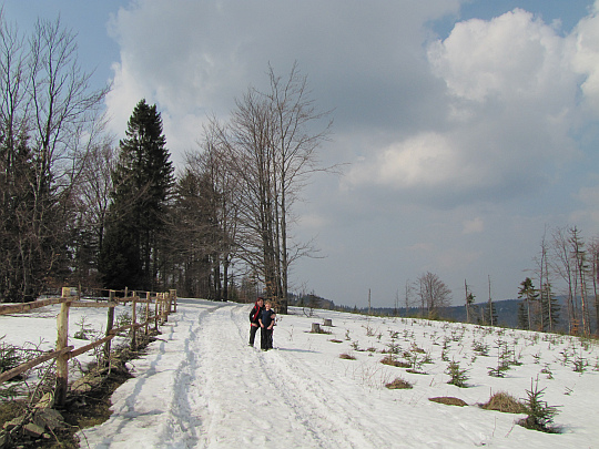 Polana Spalone (915 m n.p.m.).