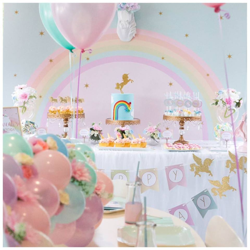 Decor Table Anniversaire Licorne