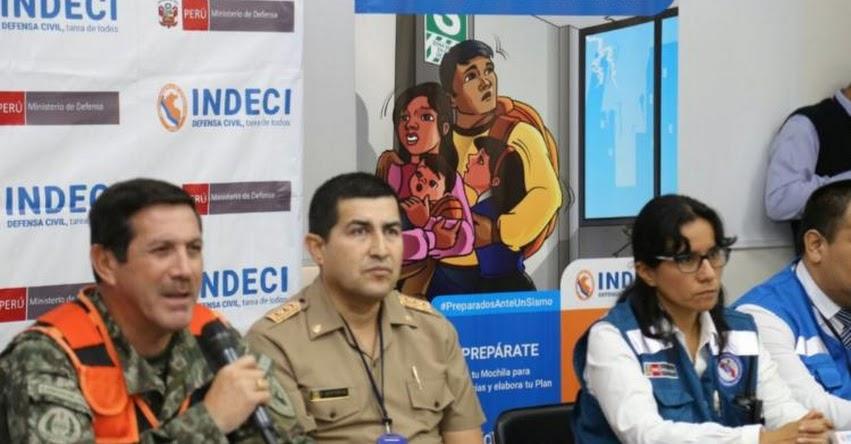 El terremoto no mata, sino la falta de preparación, advierte el Instituto Nacional de Defensa Civil - INDECI - www.indeci.gob.pe